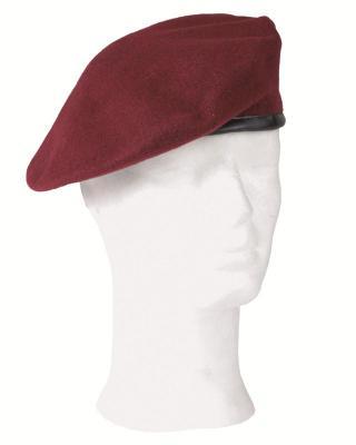 I grande 7041 beret rouge amarante net